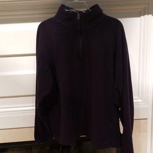 3/4 zip fleece pullover
